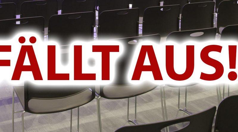 Abteilungs- und Jahreshauptversammlung werden verschoben