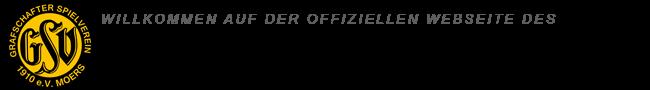 Offizielle Website des GSV Moers