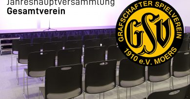 Jahreshauptversammlung Gesamtverein